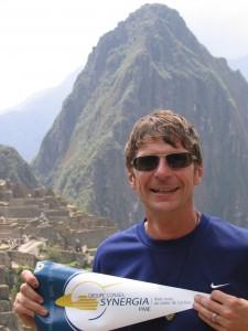 Michel Handfield au sommet du Machu Picchu